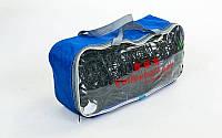 Сетка для волейбола PE 2,8мм, р-р 9,5x1м, ячейка 10x10см, с метал. тросом (PW-06)