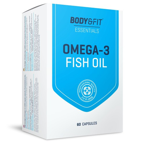 Омега Body & Fit - Omega 3 Fish Oil (60 капсул)