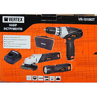 Набор аккумуляторного инструмента Vertex