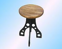 Табурет в стиле лофт, стулья для бара, мебель из дерева и металла, табурет