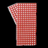 """Бумага упаковочная """"Гамбургер"""" 320*320 1000шт Красная клетка (316)"""