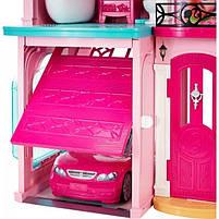 Ігровий набір Barbie Dreamhouse Барбі Будинок мрії Малібу 3-х поверховий з ліфтом і басейном FFY84, фото 6