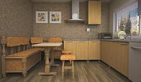 Кухонный уголок ТИС Стандарт дуб
