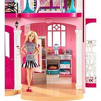 Ігровий набір Barbie Dreamhouse Барбі Будинок мрії Малібу 3-х поверховий з ліфтом і басейном FFY84, фото 10