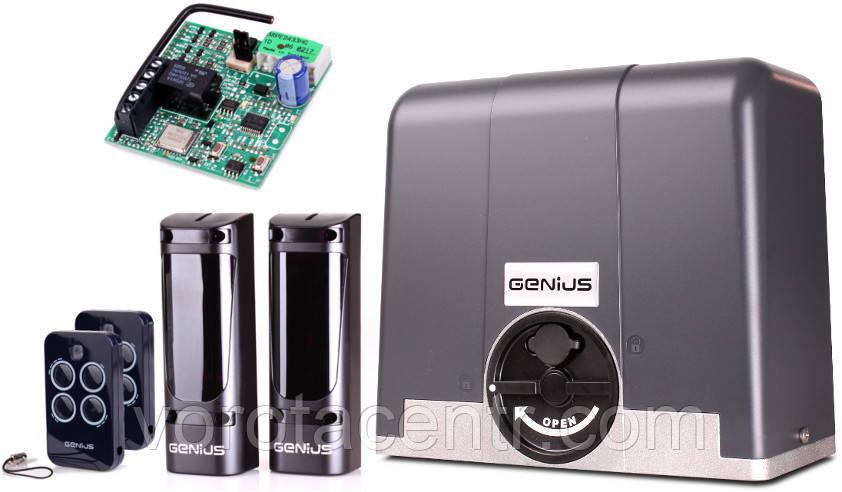 Автоматика для зсувних воріт FAAC GENIUS Blizzard 900 з вагою до 900 кг