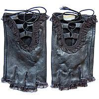 Перчатки женские спортивные с рюшками ПЖ1066