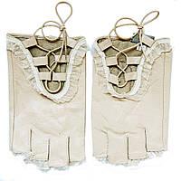 Спортивные перчатки женские с рюшками ПЖ1068