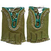 Перчатки с рюшками спортивные женские шёрстные ПЖ1072