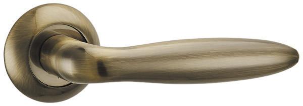 Ручка раздельная BASIS TL ABG-6 зеленая бронза