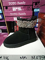 Угги Ugg Jimmy Choo натуральная замша на овчине