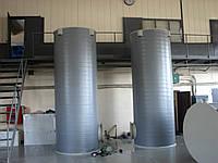 Накопительный бак для горячей воды 6 м3