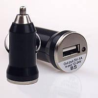 Автомобильное зарядное устройство USB 5V 1A 5В 1А (черный)