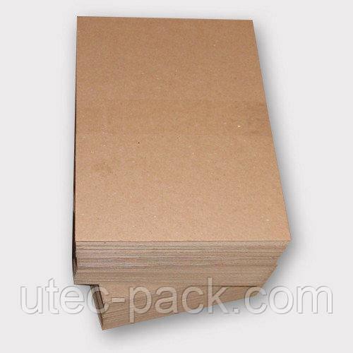 Картон переплетный 1,75 мм ЦОД НТИ картонаж без титульной страницы формат 320*230 коричневый К-50 -5