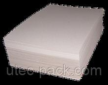 Картон хром-ерзац ЦОД НТІ для палітурки архівних справ 320*225 білий (100 шт) ХЕ -100