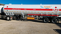 Автоцистерна YILTEKS LPG SKID PLANT 10м3 для перевозки газа