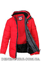 Куртка зимняя мужская CANADIENS 19-CAN17-20C красная, фото 1