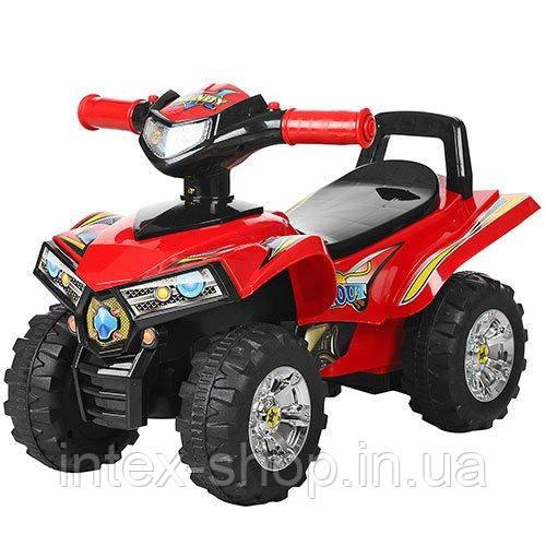 Детская каталка-толокар Bambi Квадроцикл Красный (HZ 551-3) музыкальная