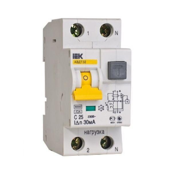 Дифференциальные автоматы АВДТ32 IEK