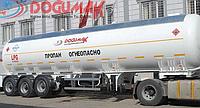 Полуприцеп DOĞUMAK 45M3 LPG SEMI TRAILER WITH HYDRAULIC PUMP & MECHANIC METER для перевозки газа
