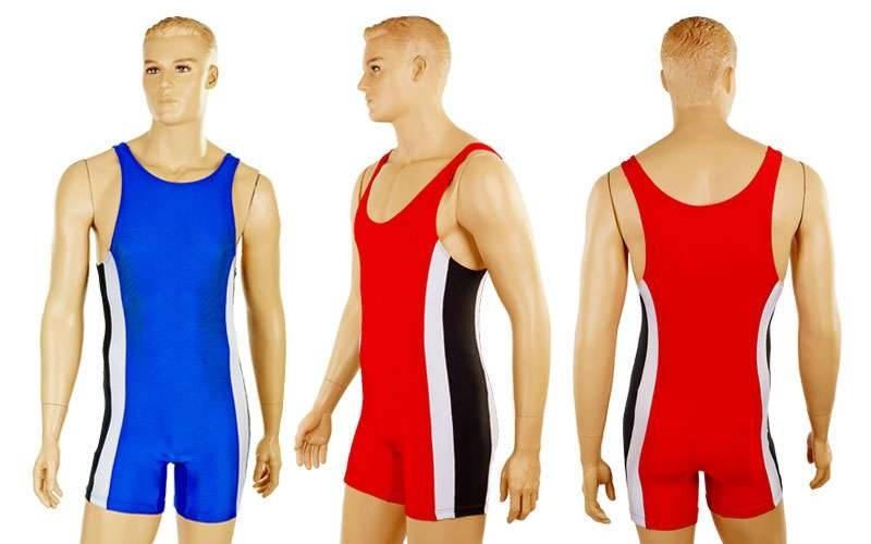 Трико для борьбы и тяжелой атлетики, пауэрлифтинга 4262: 2 цвета, размер 40-50 - Mega-zakaz в Одессе