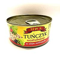Тунец дроблённый в растительном масле МK Tunczyk w oleju roslinnym 170g