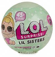 Игровой набор с мини-куклой L.O.L. S2  Сестричка 55 видов в ассортименте