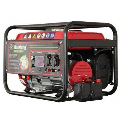 Генератор бензиновый Musstang MG2800K-B с дисплеем