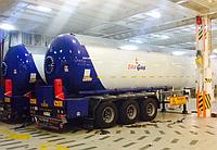 Автоцистерна YILTEKS Semi Trailer LPG Tank 57m3 для перевозки газа