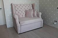 Кухонный диванчик со спальным местом (Светло-розовый)