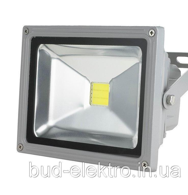 Прожектор светодиодный 30Вт 12в DC 2000Lm 6500К