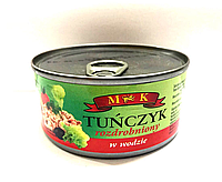 Тунец в собственном соку МК Tunczyk rozdrobniony w wodzie 170g