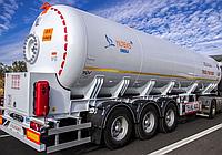 Автоцистерна YILTEKS LPG Trailer - ASME and ADR46м3 для перевозки газа