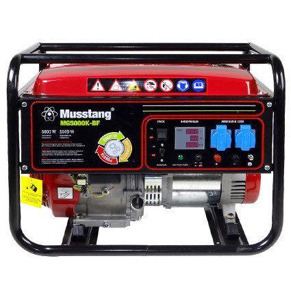 Генератор бензиновый Musstang MG5000S-B/32A