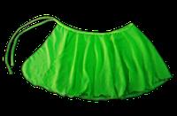 Юбка запах, хитон (зеленый) р. 28, фото 1