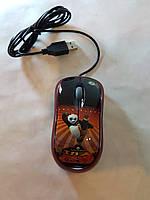 Мышь компьютерная проводная  Кунг Фу Панда купить в Украине для компьютера, ноутбука, PC