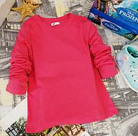 Кофточка с длинными рукавами розовая KD0013-128р