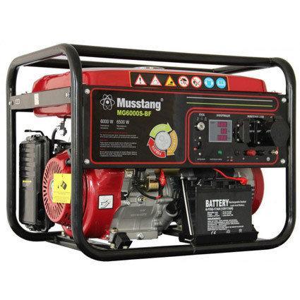 Генератор бензиновый Musstang MG6000S-B/32 A