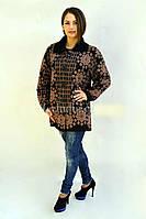 Женская кофта из натуральной шерсти