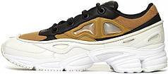 Женские кроссовки Adidas Raf Simons Ozweego 3 White/Black/Gold