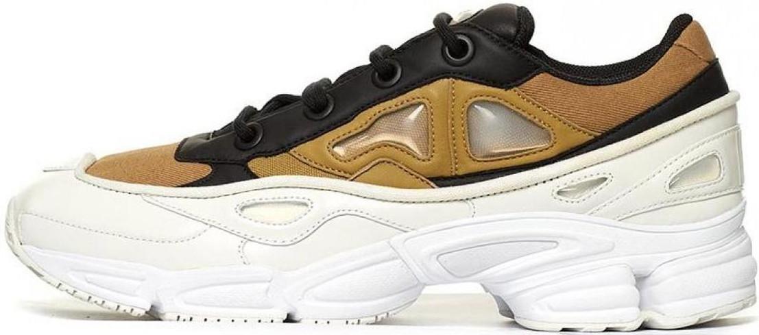 Мужские кроссовки Adidas Raf Simons Ozweego 3 White Black Gold - Интернет -магазин 40cd777c64b