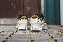 Мужские кроссовки Adidas x Raf Simons Ozweego III Optic White/Khaki/Core Black BB6743, Адидас Раф Симонс Озвиго, фото 2