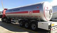 Автоцистерна  DOĞUMAK LPG PROPAN-BUTAN 46м3 для перевозки газа