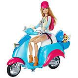 Барби на скутере Розовый паспорт DMR50, фото 2
