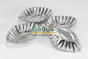 Набор (4 шт./наб.) металлических формочек для выпечки кексов Empire (EM-8669)