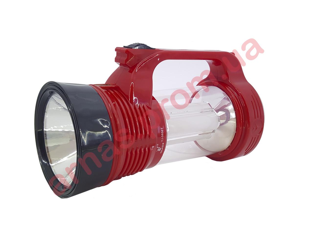 Аккумуляторный фонарь Yajia YJ-5856T