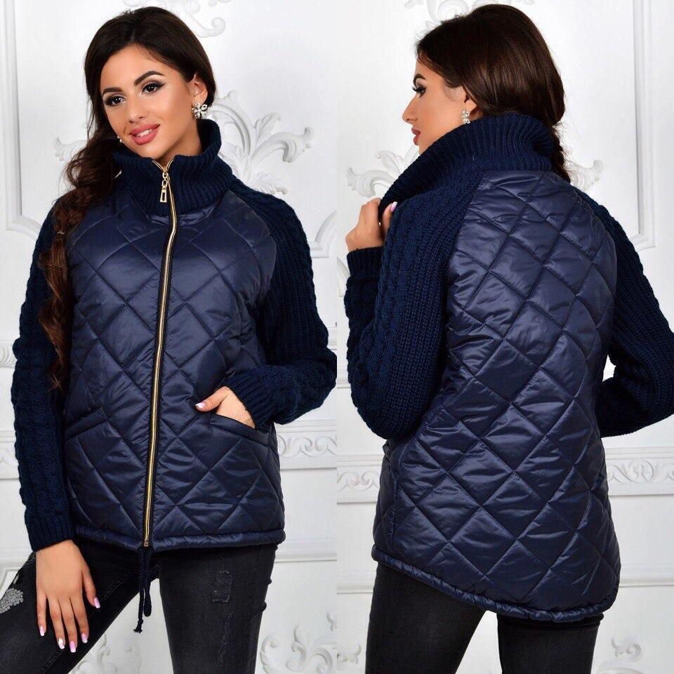 788d0119cd2 Стильная стеганная куртка на синтепоне  продажа