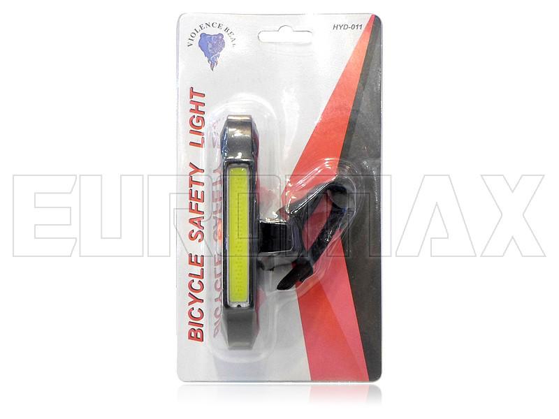 Фонарь велосипедный USB красный/белый C11-011-RW