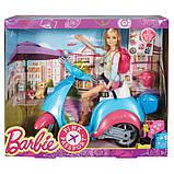 Барби на скутере Розовый паспорт DMR50, фото 5