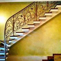 Кованные перила для лестниц. Образцы.