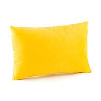 Подушка декоративная прямоугольная, желтый флок_под нанесение